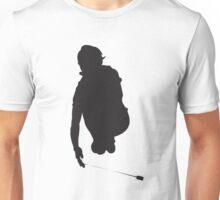 Yoyo Jump Silhouette Black Unisex T-Shirt