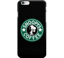 Snoopy's Coffee! iPhone Case/Skin