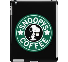 Snoopy's Coffee! iPad Case/Skin