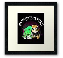 Mythosbusters Framed Print