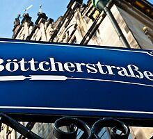 Bottcherstrasse - Bremen by A.David Holloway