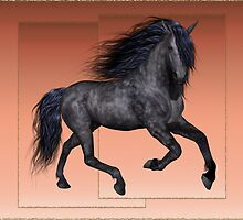 Horse 6 .. calendar by LoneAngel
