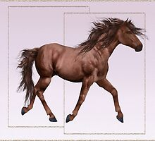 Horse 9 .. calendar by LoneAngel