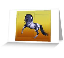 Horse 10 .. calendar Greeting Card