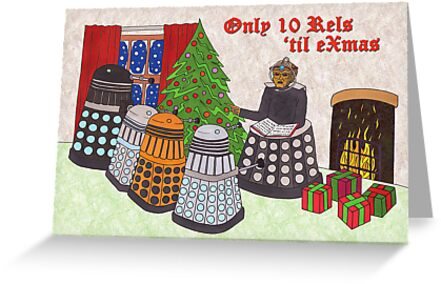 Dalek Christmas special by HappyDoctors