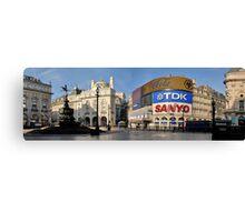 Exodus: Piccadilly Circus, London Canvas Print