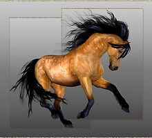 Horse 11.. calendar by LoneAngel