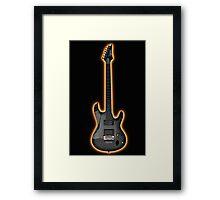 Guitar 2 Framed Print
