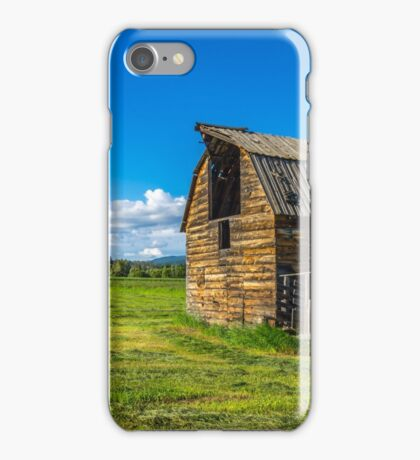 Barn on a Farm iPhone Case/Skin