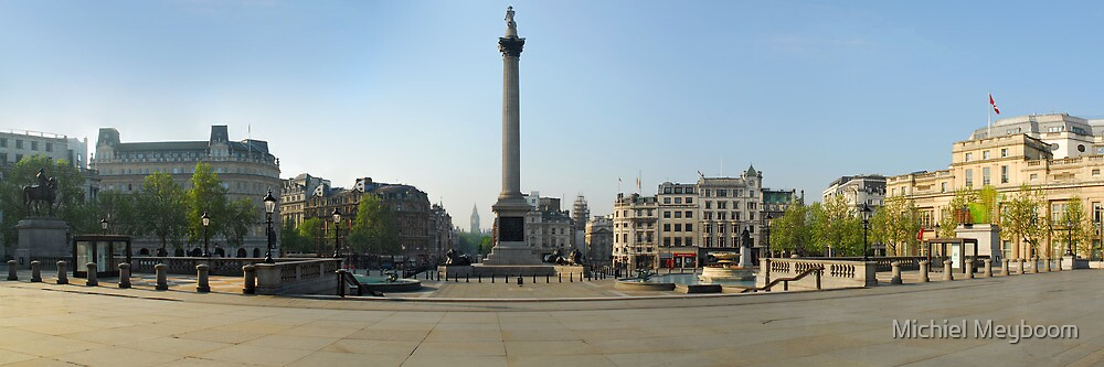 Exodus: Trafalgar Square, London by Michiel Meyboom