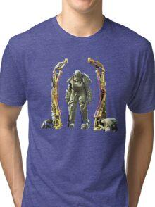 Fallout 4 Power Armor  Tri-blend T-Shirt