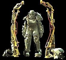 Fallout 4 Power Armor  by HeySteve