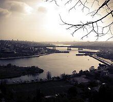 Istanbul, Golden Horn by Kuzeytac