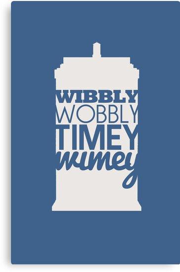 Wibbly Wobbly Timey Wimey...Stuff by fangirlshirts