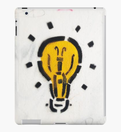 A Great Idea! iPad Case/Skin
