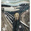 The Christmas scream by SixPixeldesign