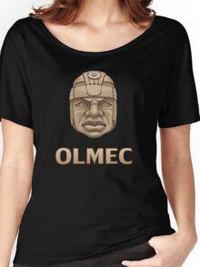 Olmec Head Women's Relaxed Fit T-Shirt