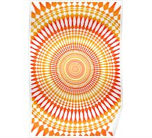 Vertigo: Abstract Radial Pattern Poster