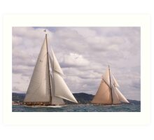 Cambria and Lulworth Art Print