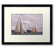 Cambria and Lulworth Framed Print