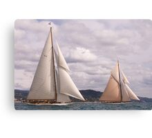 Cambria and Lulworth Canvas Print
