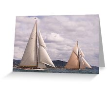 Cambria and Lulworth Greeting Card