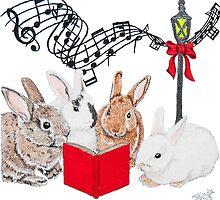 Christmas Card Series 1 - Design 11 by ArtbyMinda