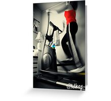 Primary Workout Greeting Card