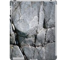 Grey Beach Rocks iPad Case/Skin