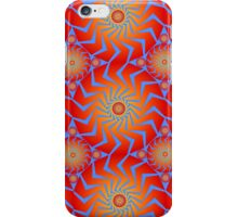 Abstract / Psychedelic Buzzsaw Pattern iPhone Case/Skin