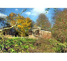 Little railway building  Photographic Print