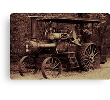1923 Case Steam Tractor Canvas Print