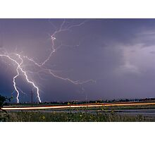 Lightning Thunderstorm DragOn Photographic Print