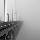 Golden Gate Bridge, Disappearing into the Mist by Michiel Meyboom
