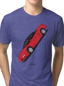Honda NSX (Angled) Tri-blend T-Shirt