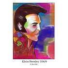 Elvis Presley 1969 by StevieRiksArt