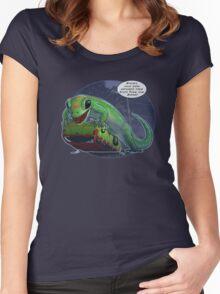 Jurassic Insurance Women's Fitted Scoop T-Shirt
