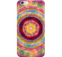 Abstract / Psychedelic Radial Pattern iPhone Case/Skin