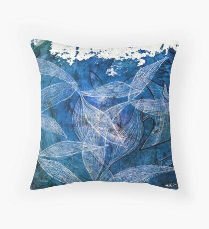 Transparent World Throw Pillow