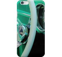 Classic Volkswagon Beetle Dash iPhone Case/Skin