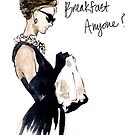 Audrey Hepburn Breakfast, Anyone? by rishann