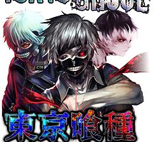 tokyo ghoul trice anime design with text by tylerlions777