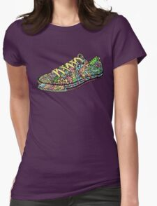 Cute Shoe Womens Fitted T-Shirt