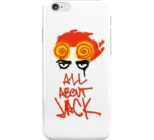 ALL ABOUT JACK iPhone Case/Skin