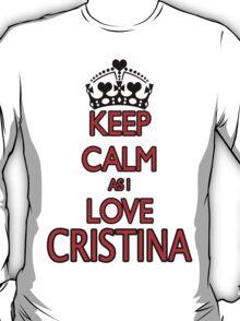 LOVE CRISTINA T-Shirt