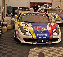 F458 Ferrari by DaveKoontz