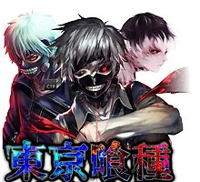 tokyo ghoul trice anime design no text  by tylerlions777