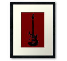 Guitar 5 Framed Print