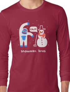 Snowman Bros Long Sleeve T-Shirt