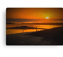 South Beach Sunset  (CH) Canvas Print